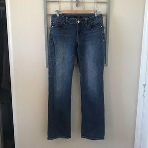 White House Black Market Bootcut Jeans size 6